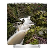 Aira Force Lower Stone Bridge Shower Curtain