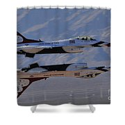 Aircrafts Shower Curtain