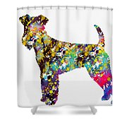 Airedale Terrier Shower Curtain