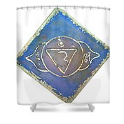Ajna - Third Eye Chakra  Shower Curtain