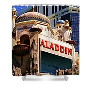 Aladdin Hotel Casino Shower Curtain