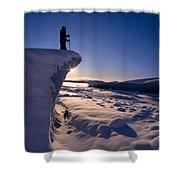 Alaska, Juneau Shower Curtain