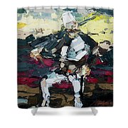 Albanian Traditional Costumes  Shower Curtain