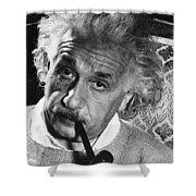 Albert Einstein (1879-1955) Shower Curtain