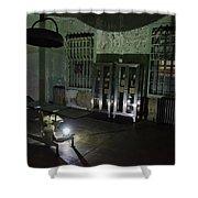 Alcatraz Federal Penitentiary Shower Curtain