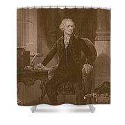 Alexander Hamilton Shower Curtain