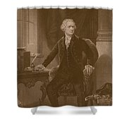 Alexander Hamilton - Two Shower Curtain