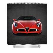 Alfa Romeo 8c Shower Curtain