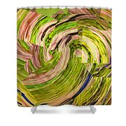 All Mixed Up Shower Curtain