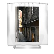 Alley #10, Venice Shower Curtain