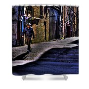 Alley Stroll Shower Curtain