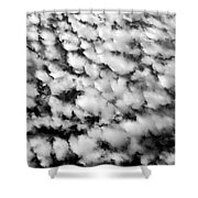 Alltocumulus Cloud Patterns Shower Curtain