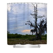 Almost Sunset Shower Curtain
