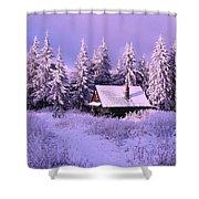 Alpine Hideaway Shower Curtain