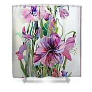 Amaryliss Shower Curtain