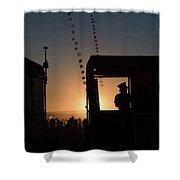 Amazing Tankwa Sunset Shower Curtain