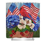 America The Beautiful-jp3210 Shower Curtain