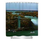 American Falls Niagara Shower Curtain