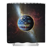 American Influence Shower Curtain