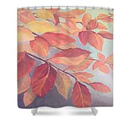 Among The Leaves Shower Curtain