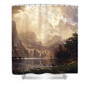 Among The Sierra Nevada, California Shower Curtain