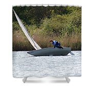 An Afternoons Sailing Shower Curtain