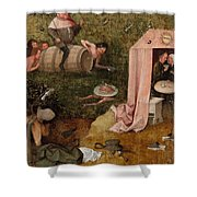 An Allegory Of Intemperance Shower Curtain