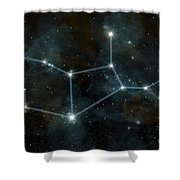 An Artists Depiction Shower Curtain