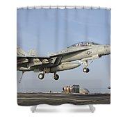 An Fa-18e Super Hornet Makes An Shower Curtain