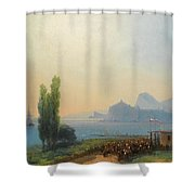An Imperial Welcome At Sudak Shower Curtain