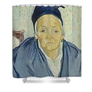An Old Woman Of Arles Arles, February 1888 Vincent Van Gogh 1853 - 1890 Shower Curtain