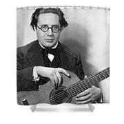 Andres Segovia Shower Curtain