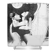 Angel Embrace Shower Curtain