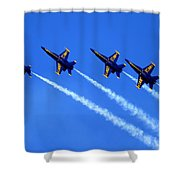 Angels Four Shower Curtain