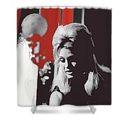 Angie Dickinson Young Billy Young 4 Old Tucson Arizona 1968-2014 Shower Curtain