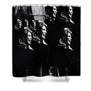 Angie Dickinson Young Billy Young Many Angies Old Tucson Arizona 1968-2013 Shower Curtain