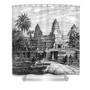 Angkor Wat, Cambodia, 1868 Shower Curtain