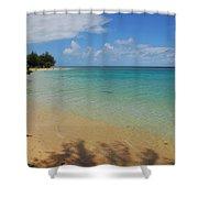 Annini Beach Shower Curtain