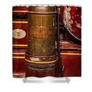 Antique Fire Extinguisher Shower Curtain