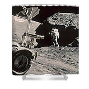 Apollo 17, December 1972: Shower Curtain