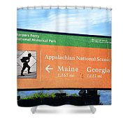 Appalachian National Scenic Trail Shower Curtain