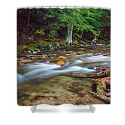 April Morning At Coxing Kill 2018 II Shower Curtain
