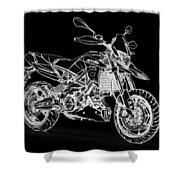 Aprilia Smv 900 Dorsoduro Shower Curtain
