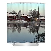 Arboga Town  Shower Curtain