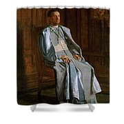 Archbishop Diomede Falconio Shower Curtain