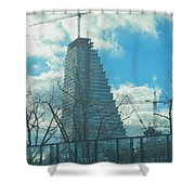Architectural Skies Shower Curtain