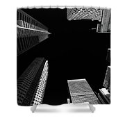 Architecture Black White  Shower Curtain