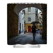 Arco De Los Blanco Cadiz Spain Shower Curtain
