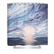 Arctic Sky Shower Curtain