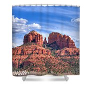 Arizona-sedona-red Rock State Park Shower Curtain